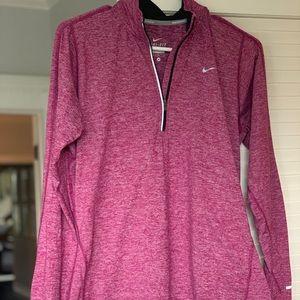 Nike long sleeved zip up
